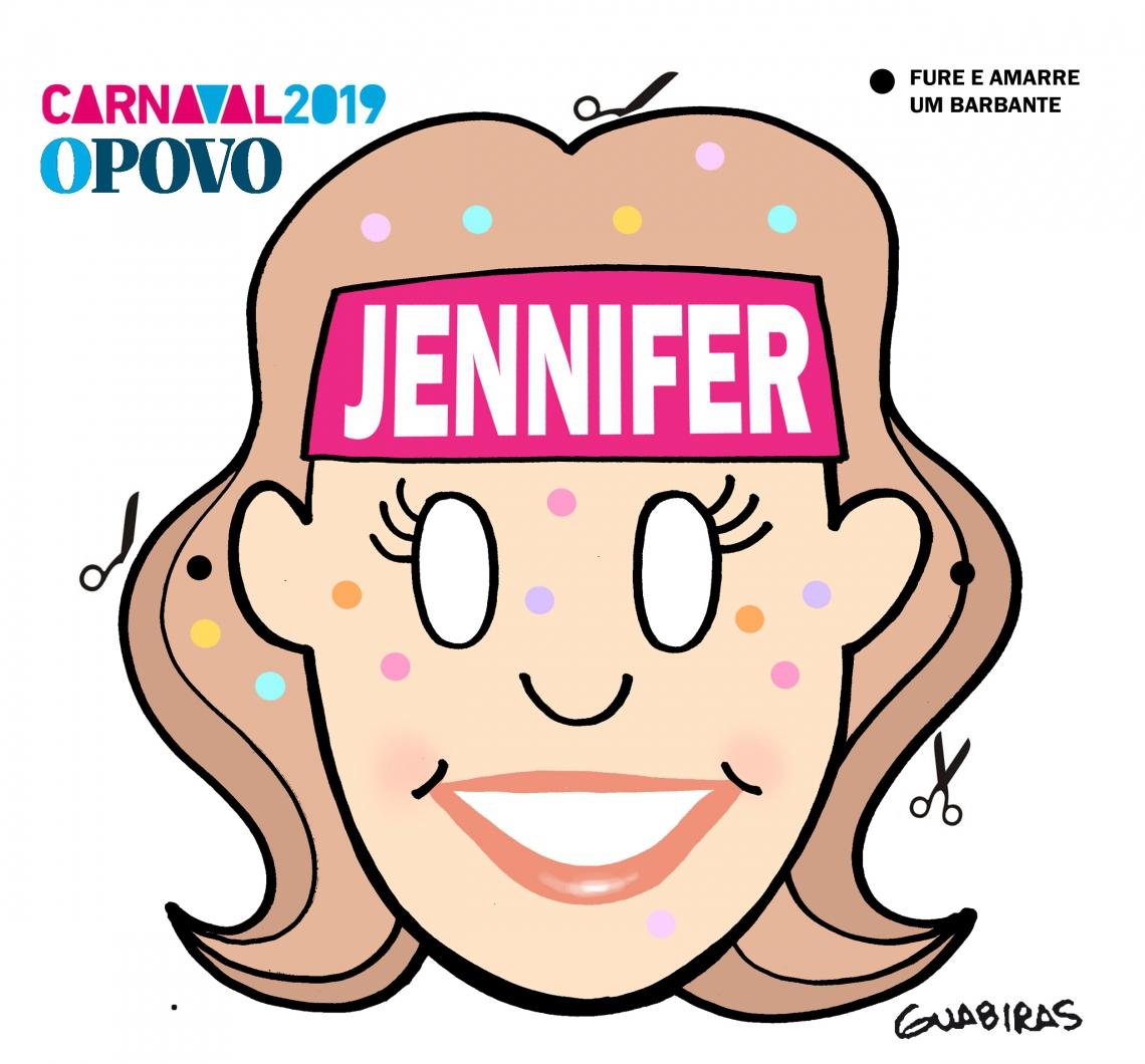 Máscara Jennifer.