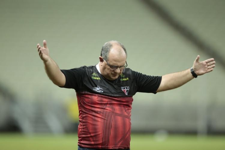 Marcelo Vilar foi campeão da Série D e da Taça Fares Lopes com o Ferrão  (Foto: Júlio Caesar/O POVO)