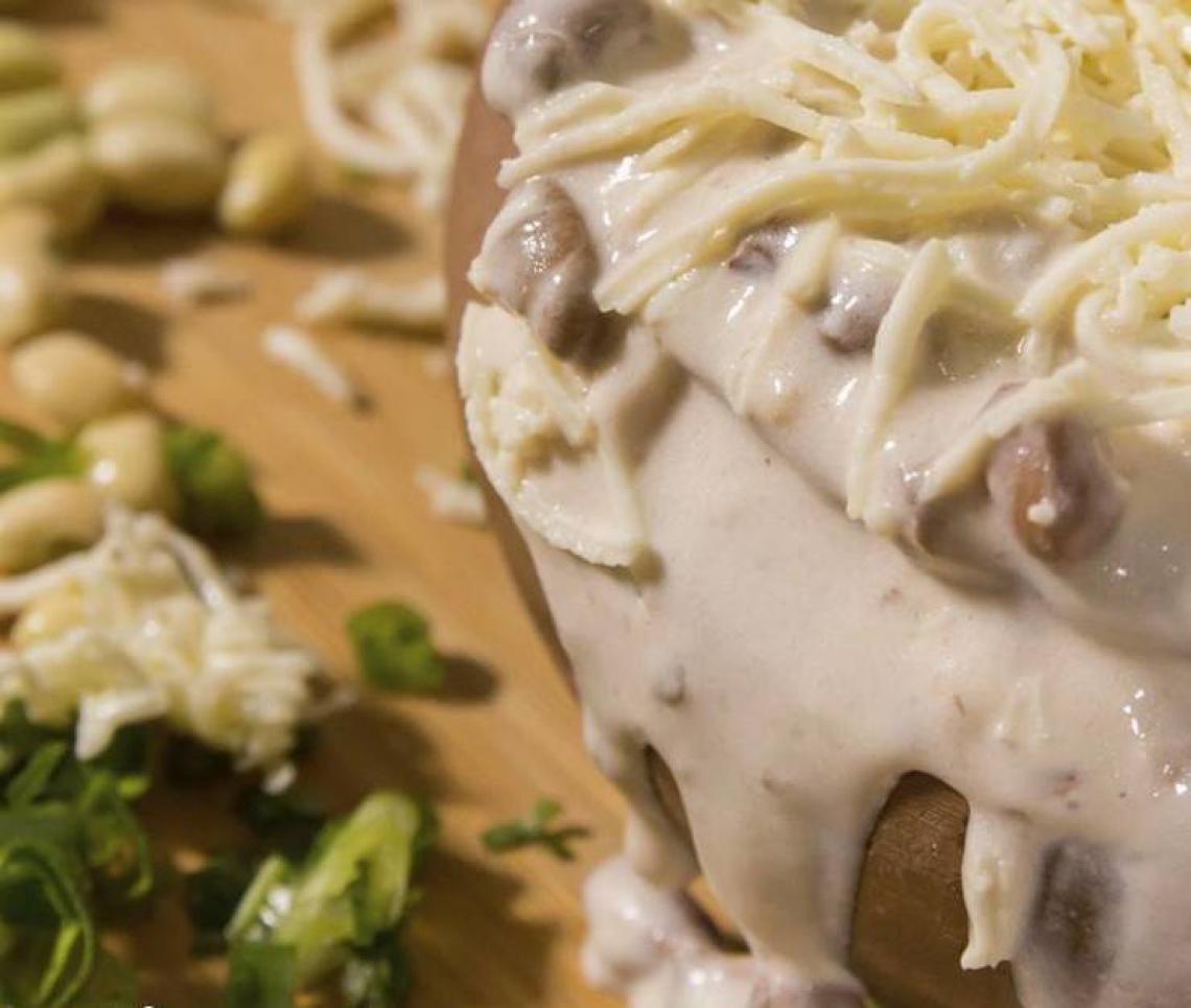 O tradicional prato do Kina do Feijão Verde (Foto: Reprodução/Facebook)