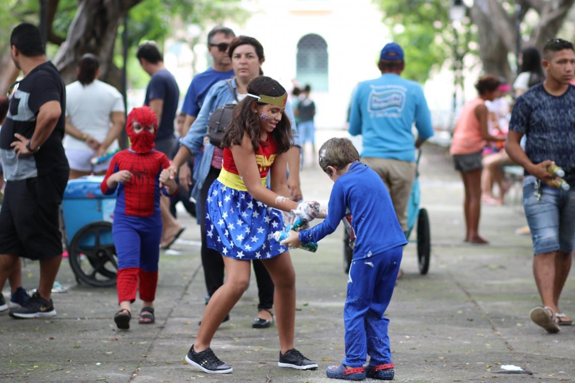 Carnaval no Passeio Público