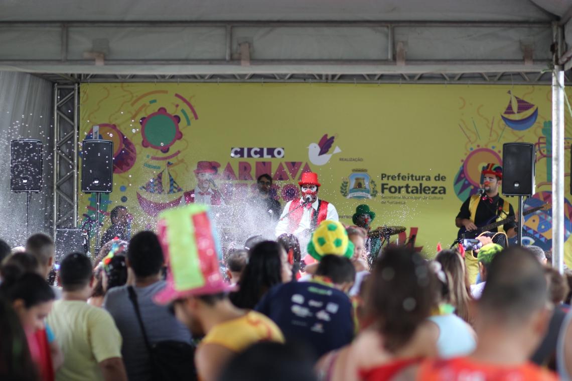 A Banda Aquarela animou a criançada no Passeio Público