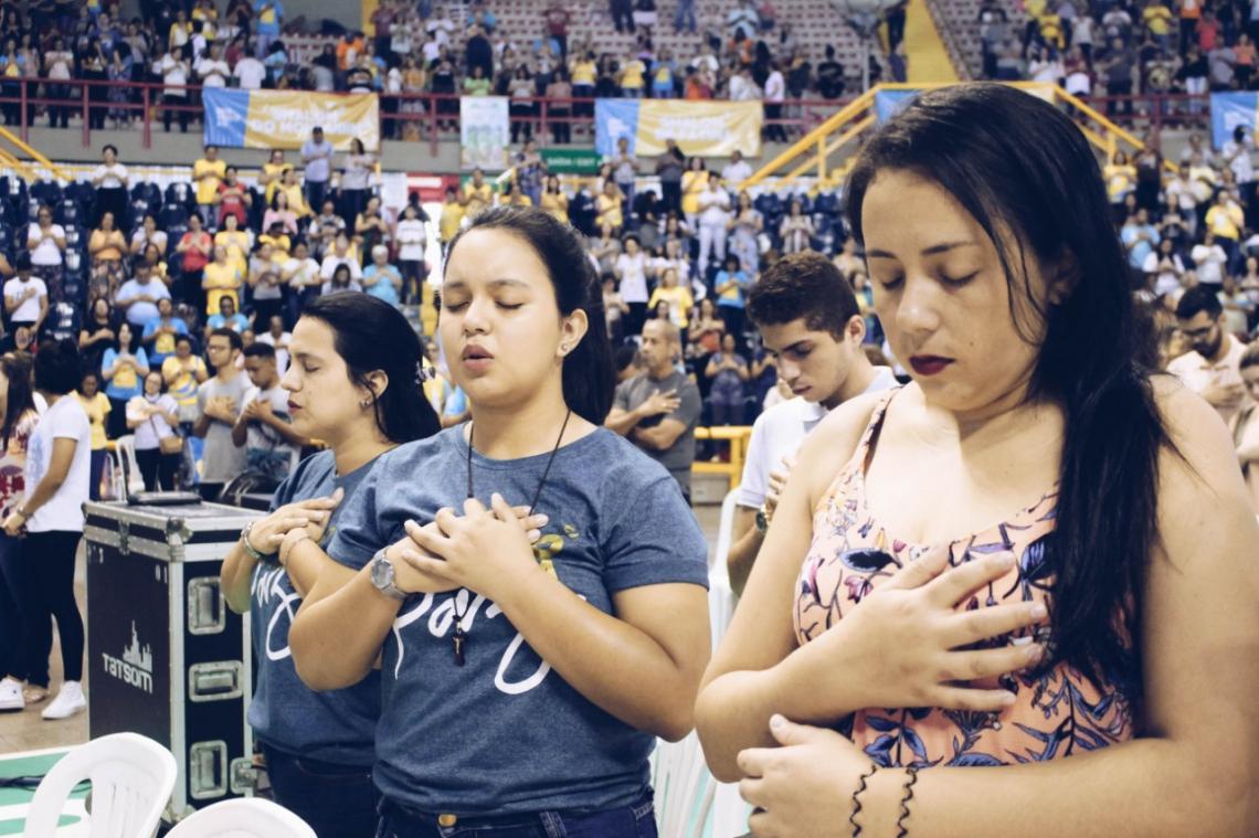 Diversas pessoas compareceram ao primeiro dia da 34[ edição do Renascer. (Foto: Divulgação Shalom)
