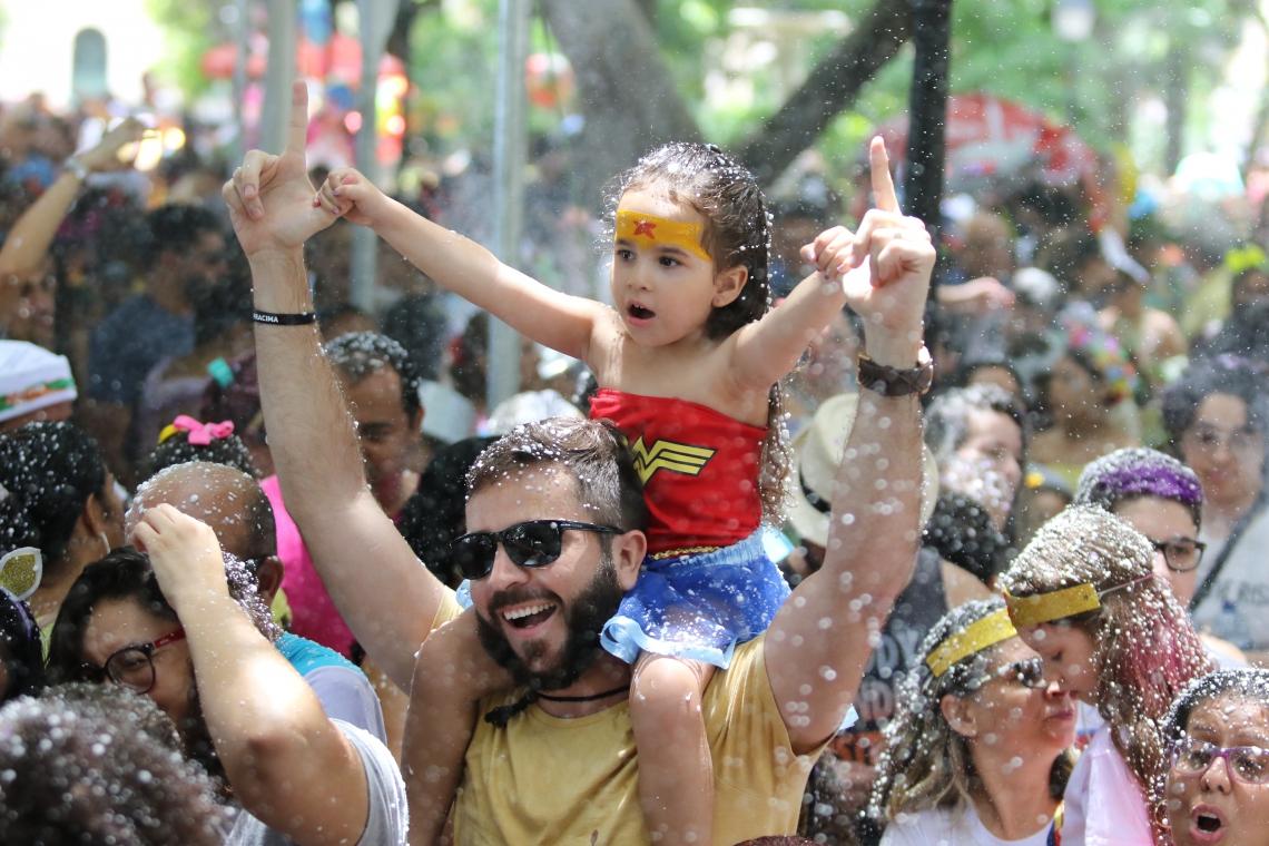 Carnaval das crianças no Passeio Publico.  (Fotos: Fábio Lima/O POVO)