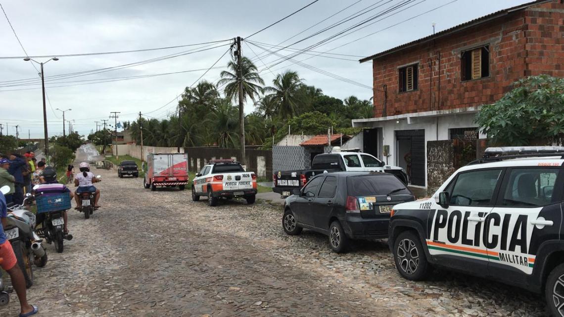 Morte de PM e esposa ocorreu em casa de praia em Paracuru