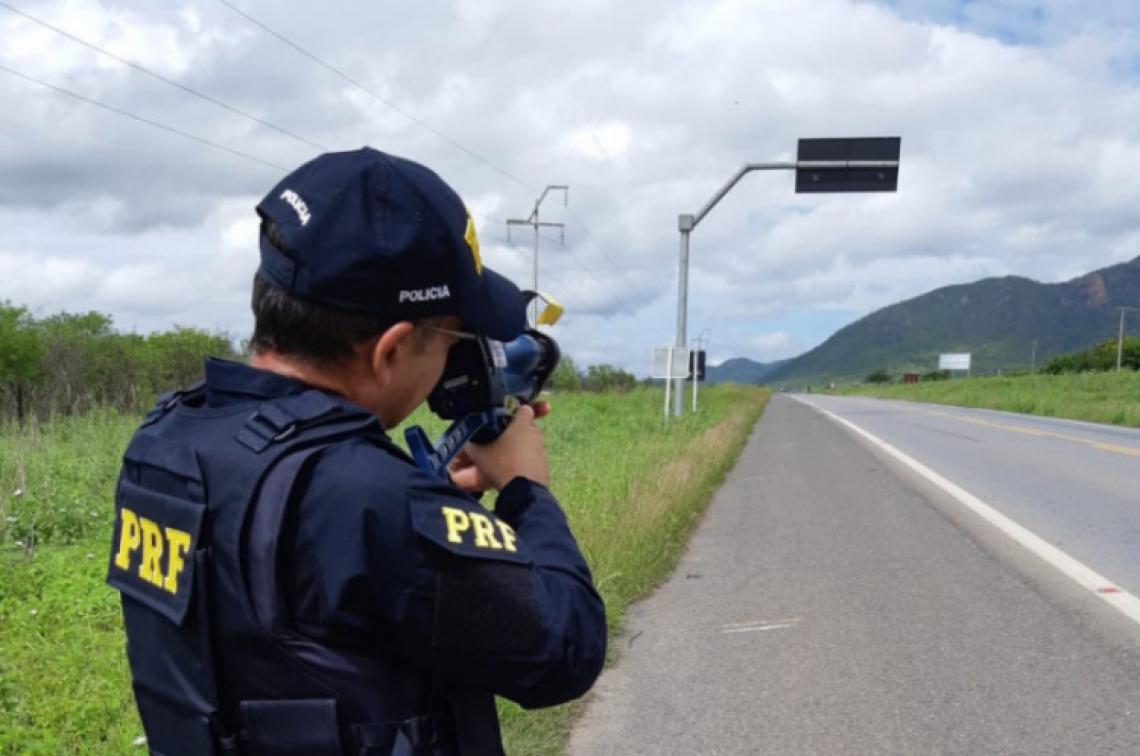 Multas por excesso de velocidade no Ceará ultrapassam 8 mil, segundo PRF-CE