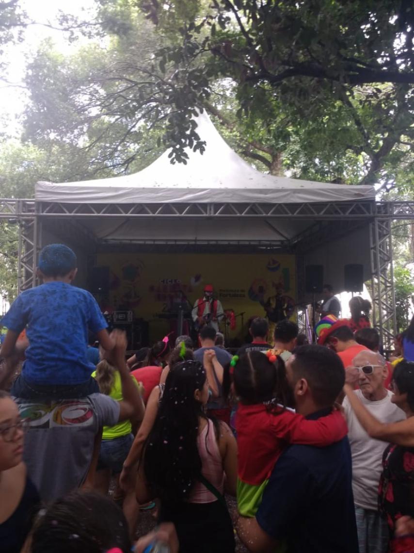Passeio Público encerra suas atividades de Carnaval nesta terça-feira, 5