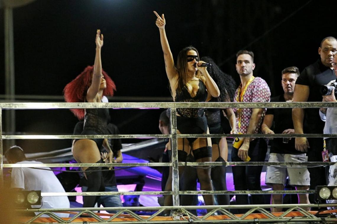 Anitta recebeu cachê no valor de meio milhão de reais. (Foto: Aurélio Alves/O POVO)