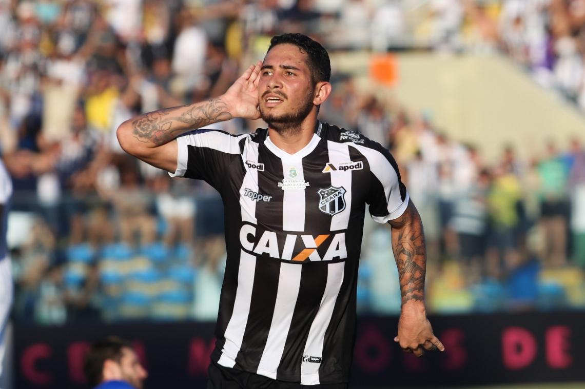 Leandro Carvalho deve reestrear pelo Ceará nesta quarta, 6, contra o Atlético-CE | Foto: Mauro Jefferson/cearasc.com