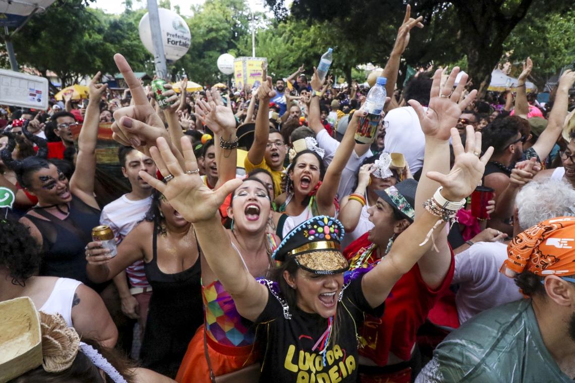Com 12 polos, Ciclo Carnavalesco 2020 ocorre até 16 de fevereiro em Fortaleza