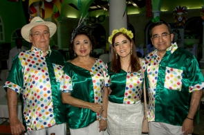 Meton e Yolanda Vasconcelos, Fátima e Jardson Cruz