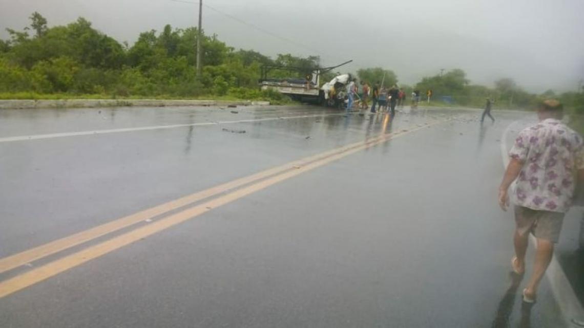 Acidente ocorreu no Km 127 da BR-222