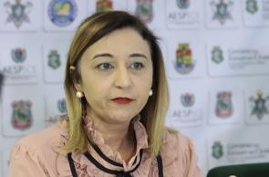 FORTALEZA ,CE, BRASIL 07-03-2019:( Rena Gomes ) Audiencia para divulgar os dados da policia militar e bombeiros do Carnaval(Gustavo Simão/ Especial para O POVO)