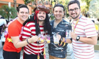 Alysson Rodrigues, Miguel Dias Filho,  Neudo Rodrigues e Marcelo Maranhão