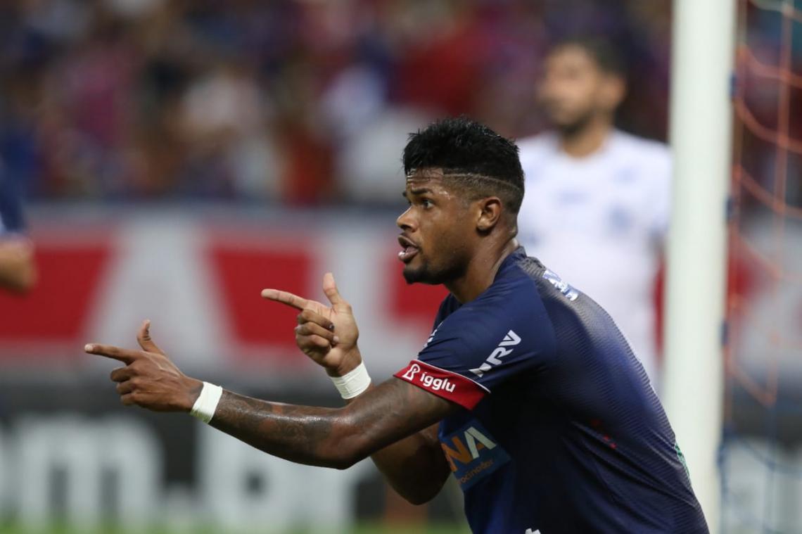 Júnior Santos falou com a imprensa após o jogo