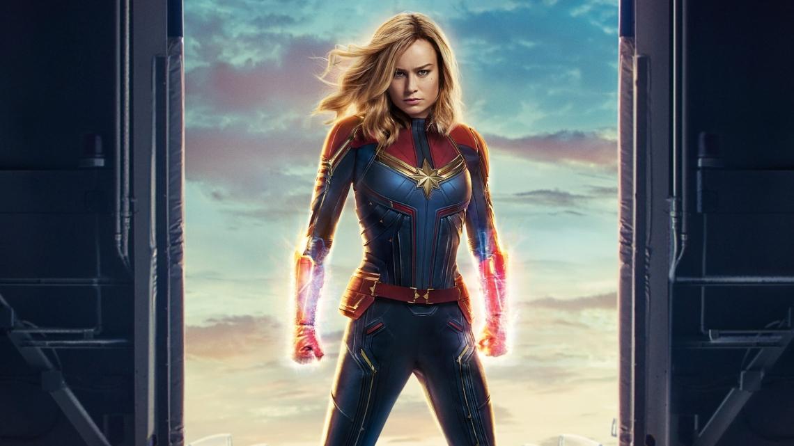 O filme Capitã Marvel está entre as opções  desta segunda-feira nos cinemas da rede UCI