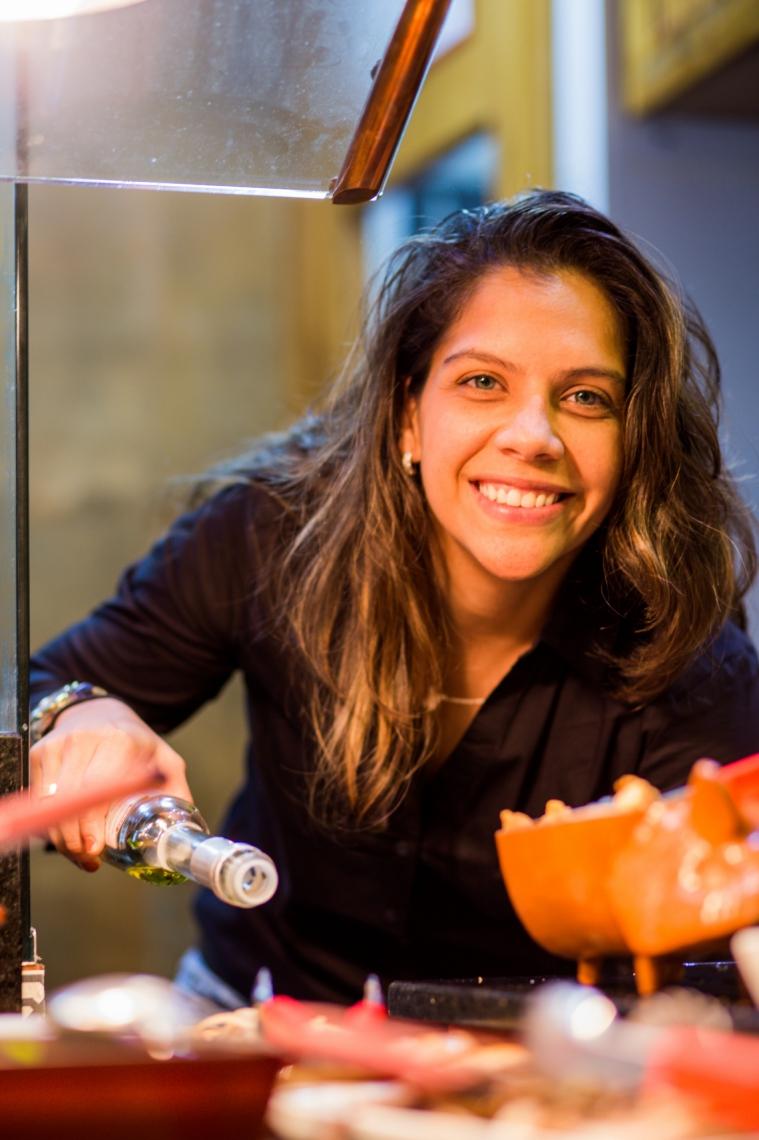 Ingrid Queiroz abriu franquias do restaurante Divino Fogão em Fortaleza