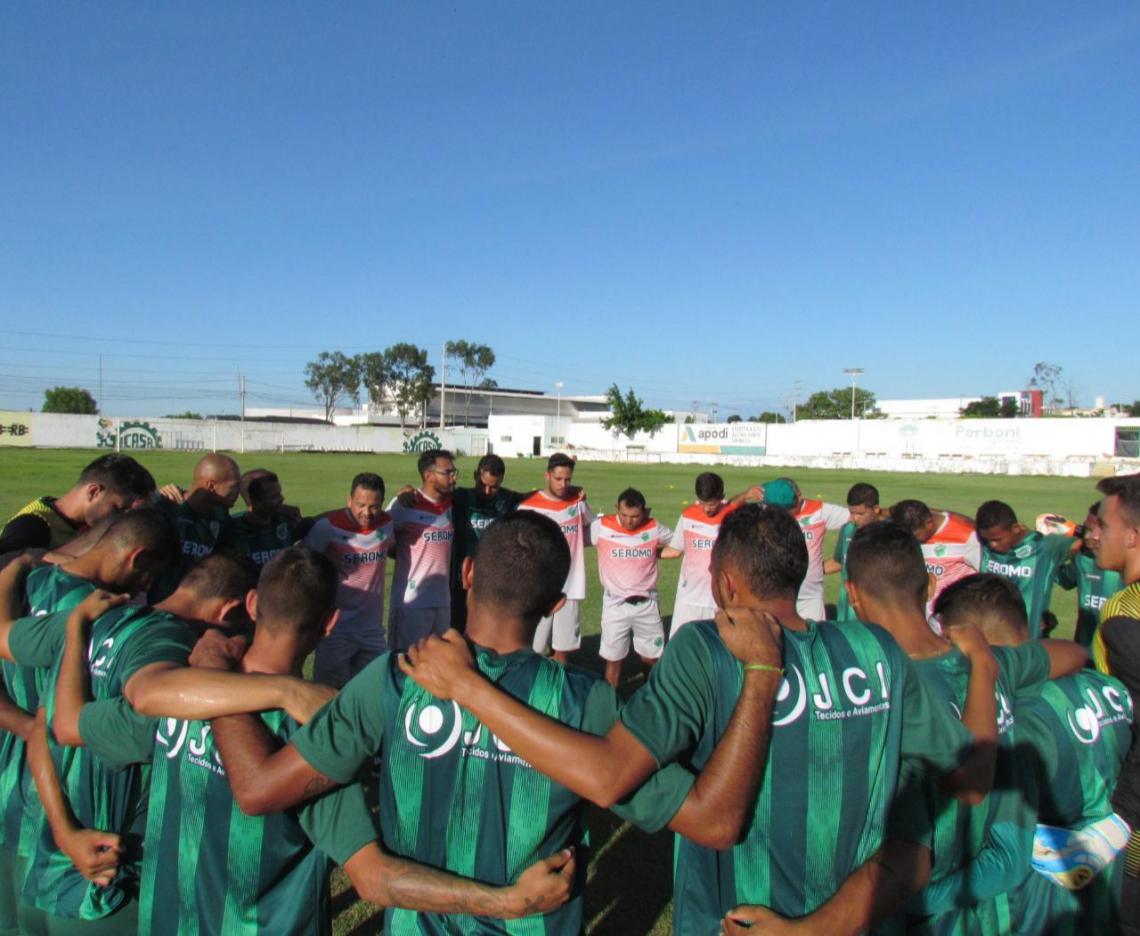 Floresta pode se classificar caso vença o Atlético-CE o Guarany não vença o Ferroviário no dia 13 (Foto: Wilson Medeiros/Divulgação/Floresta)