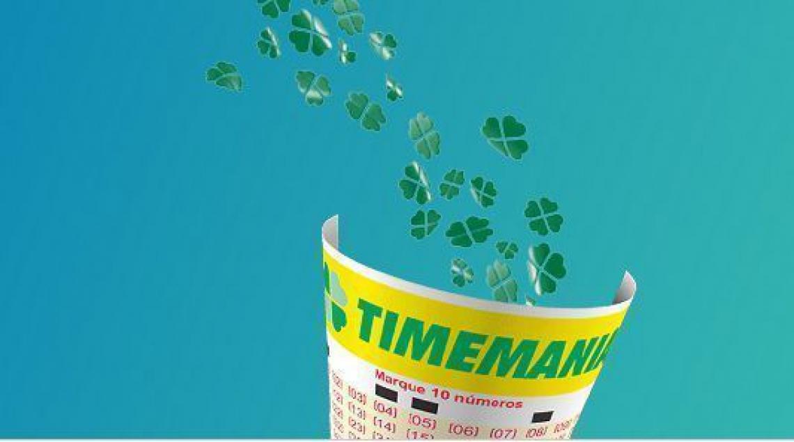 O resultado da Timemania Concurso 1303 foi divulgado neste sábado, 09 de março (09/03)