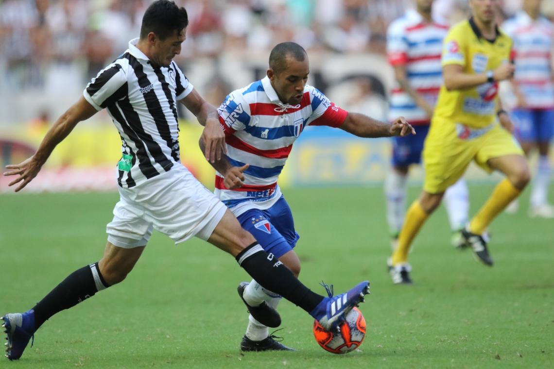 Juninho, do Ceará, e Edinho, do Fortaleza, vão travar novo duelo