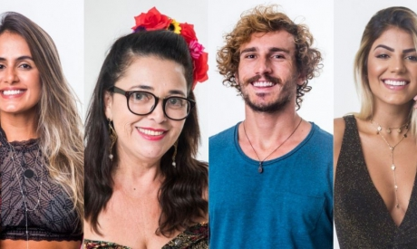 Paredão do BBB19 é formado por Carolina, Tereza, Alan e Hariany. Vote na enquete