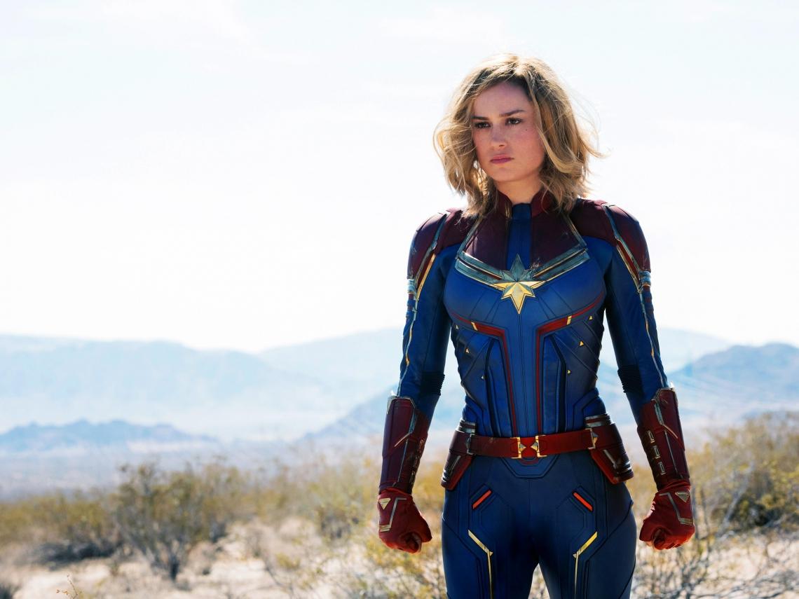 Capitã Marvel promete ser a maior