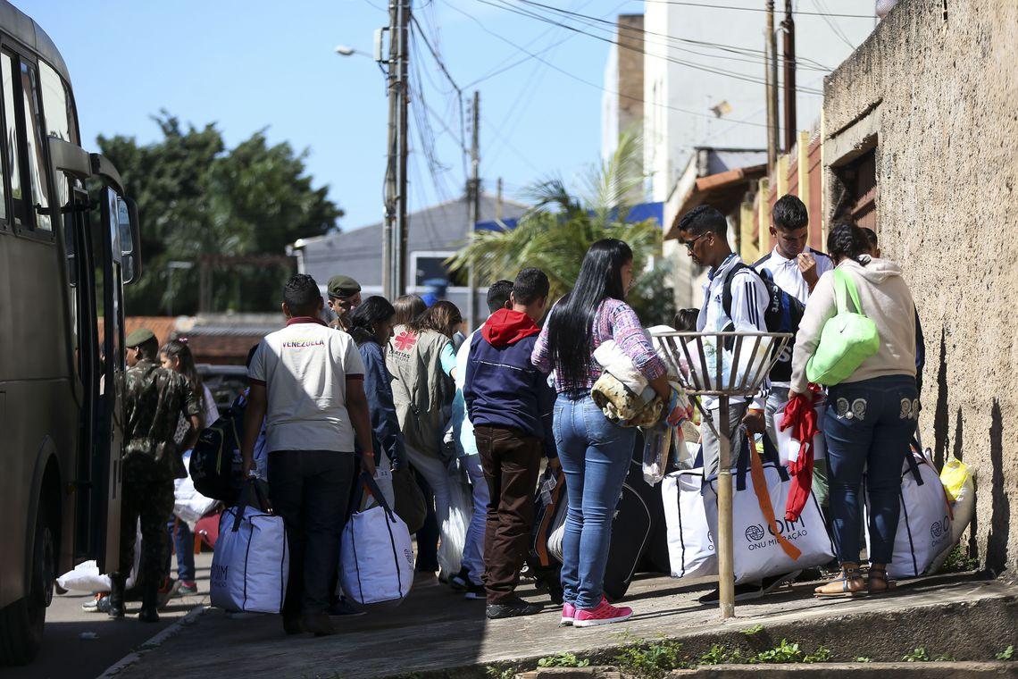 Ministro da Cidadania reafirma que o Brasil vai continuar acolhendo os que aqui chegarem. (Foto:Marcelo Camargo/Agência Brasil)