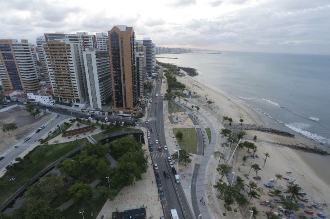 Fortaleza tem sozinha a população dos 52 menores países do mundo (Foto: Tatiana Fortes/O POVO)
