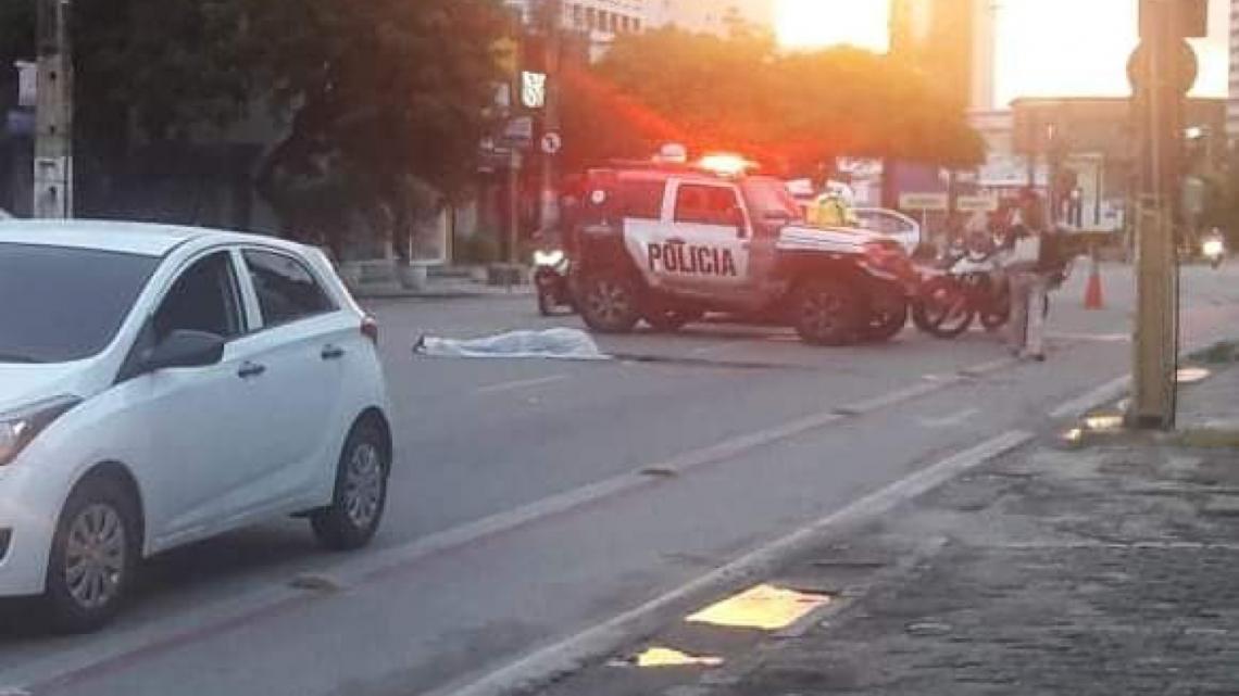 A vítima não resistiu aos ferimentos. (Foto: Polícia Militar do Ceará (PMC) Divulgação)