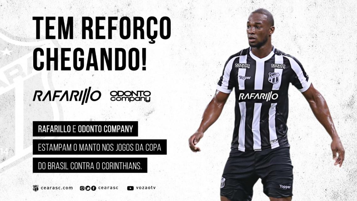 Ceara Tera Patrocinadores Exclusivos Para Jogos Contra O Corinthians Ceara Sporting Club Times Esportes O Povo