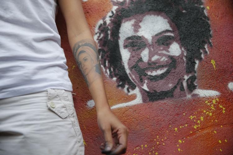MARIELLE Franco e Anderson Gomes foram assassinados na noite do dia 14 de março de 2018  (Foto: Fernando Frazão/Agência Brasil)