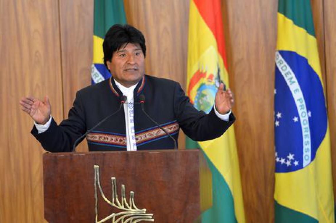 Presidente da Bolívia, Evo Morales. (Foto: Antônio Cruz/Agência Brasil)