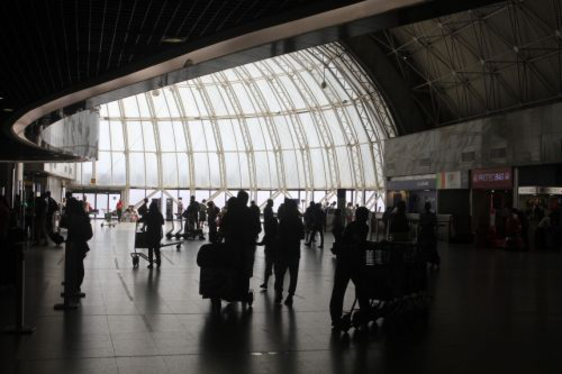 O POVO Online aguarda resposta da Fraport para identificar os voos com atraso (Foto: Evilázio Bezerra/O POVO).