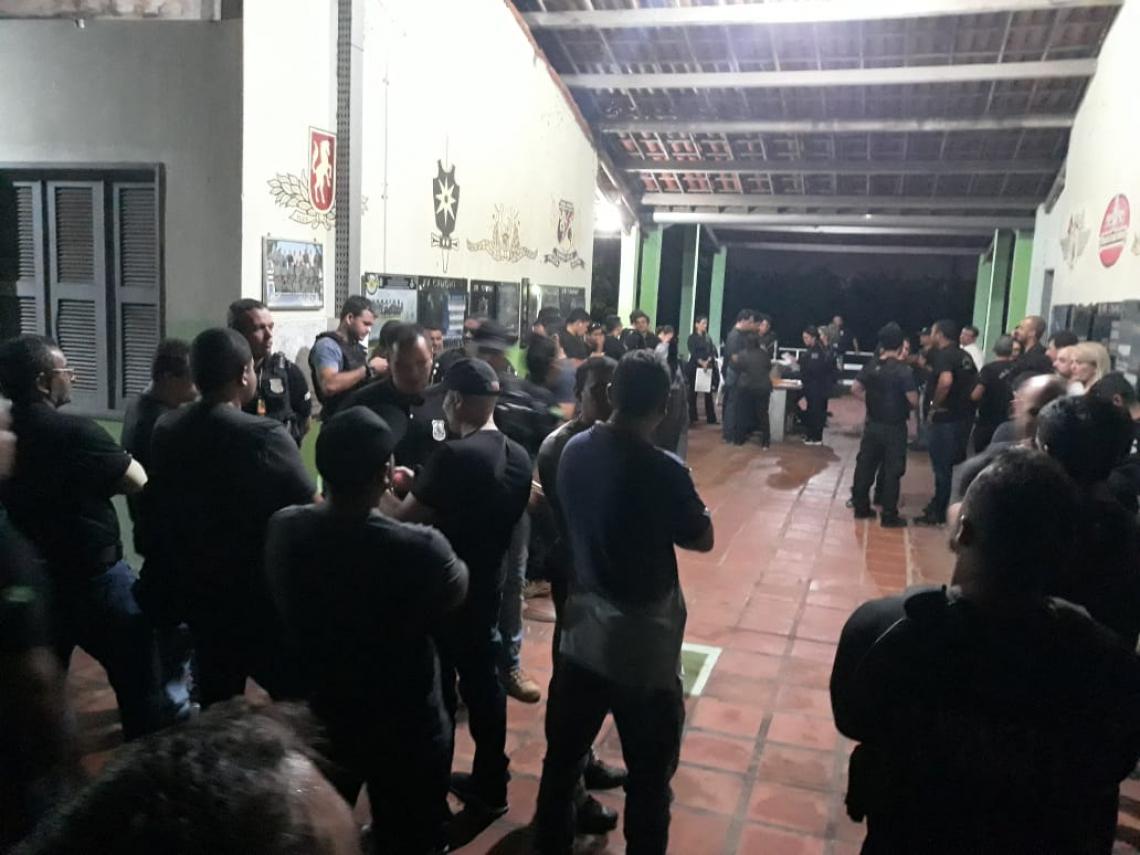 São 79 mandados cumpridos nesta quinta (Foto: Divulgação/MPCE)
