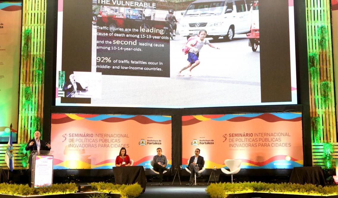 SEMINÁRIO Internacional de Políticas Públicas Inovadoras para Cidades foi realizado ontem em Fortaleza