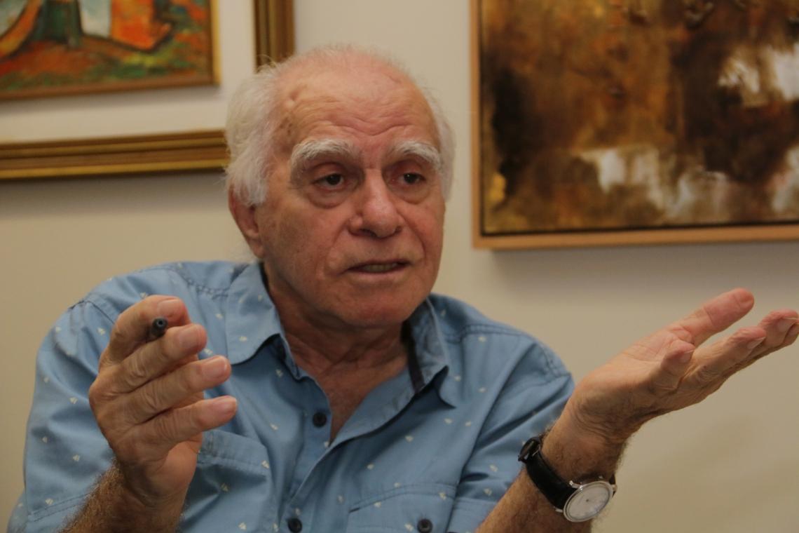O escritor Ignácio de Loyola Brandão  é o novo imortal da Academia Brasileira de Letras