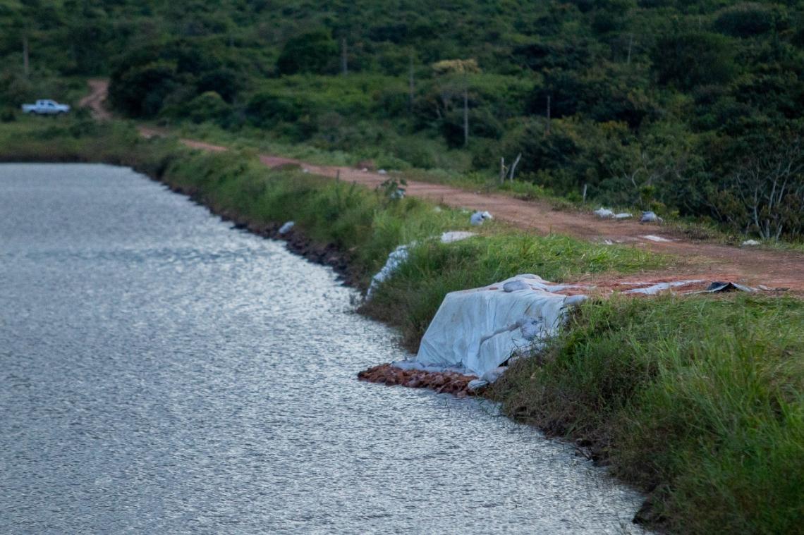 Barragem do Granjeiro apresentou risco, o que levou a realocação de 250 famílias ribeirinhas. (Foto: Aurélio Alves)