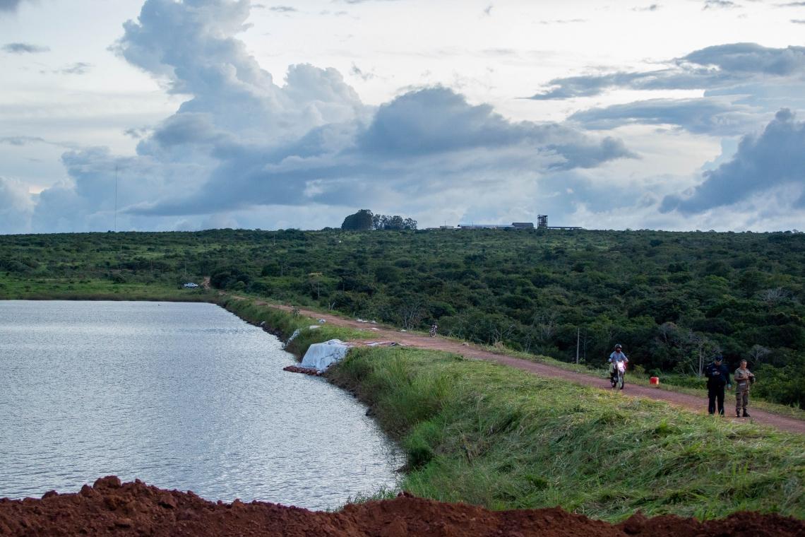 AÇÕES na barragem do Granjeiro visam conter riscos relacionados a erosão