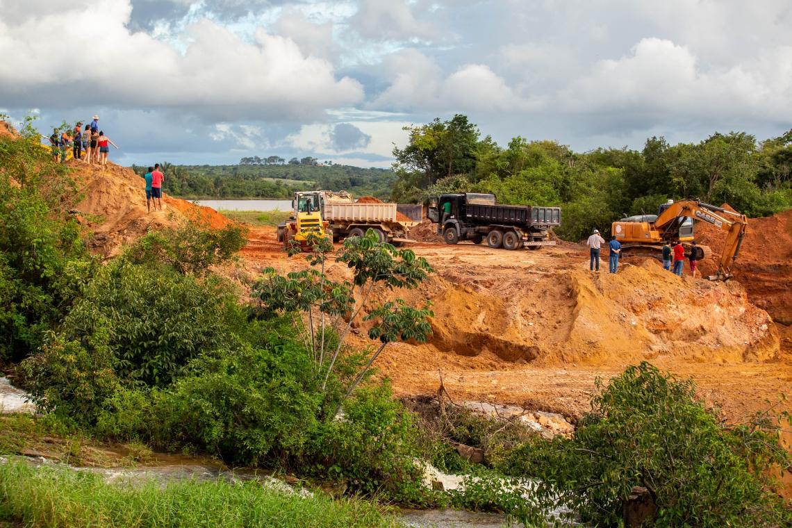 OBRAS emergenciais estão sendo realizadas para conter risco de rompimento da barragem do Granjeiro, localizada entre Ubajara e Ibiapina