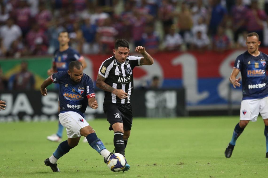 Fortaleza e Ceará empatam com gols no segundo Clássico-Rei de 2019. Foto: Mateus Dantas/O POVO