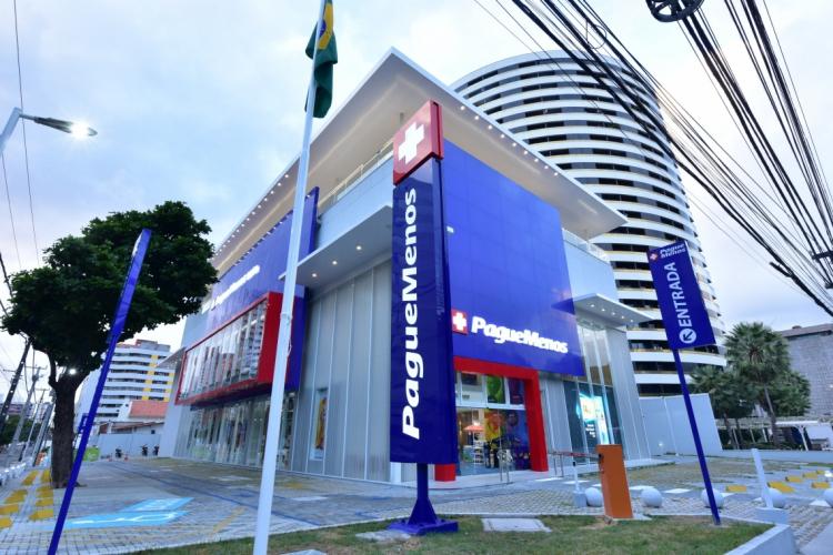 LOJA 1000 da Pague Menos é a maior farmácia da América Latina (Foto: divulgação )