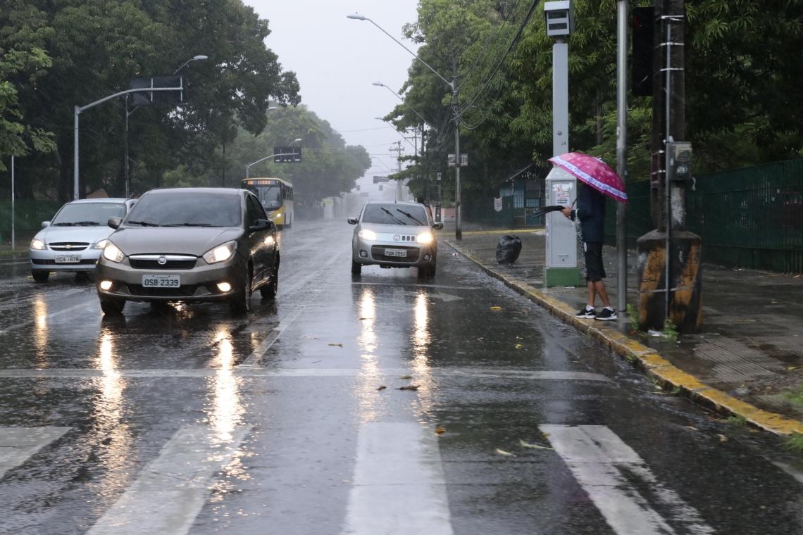 Fortaleza registrou 74.4 milímetros nas últimas 24 horas