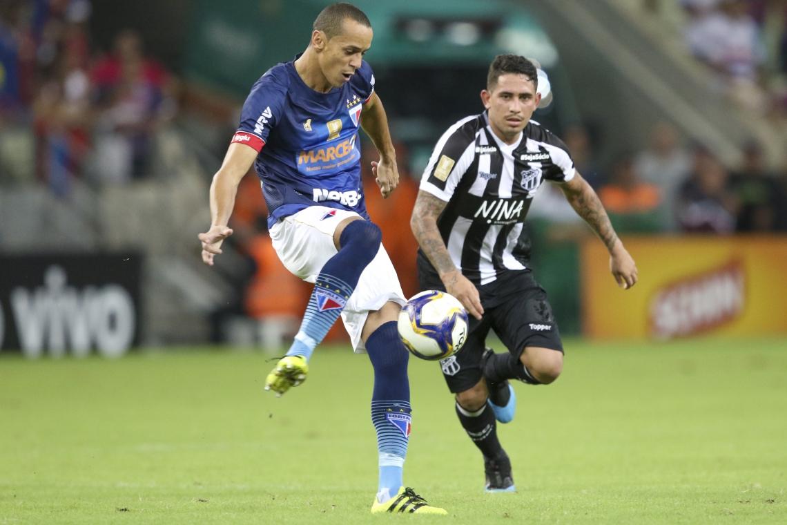 Ano passado, Ceará e Fortaleza empataram em 1 a 1 pela primeira fase da Copa do Nordeste.