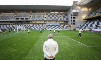 Comandante da Seleção desenhou time para próximo amistoso da equipe verde e amarela. Foto: Lucas Figueiredo/CBF