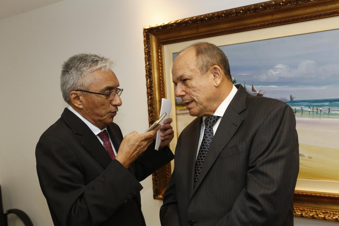 Eliomar de Lima  e Honório Pinheiro