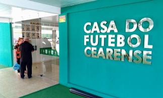 Fachada da Federação Cearense de Futebol