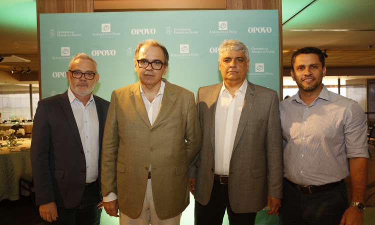 (foto 3) Edson Maranhão, Dummar Neto, Cliff Vilar e Alexandre Nedina