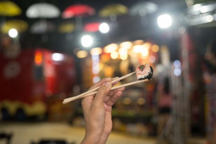 Cada peça de sushi custará R$ 1 nesta segunda-feira de feriado  (Foto: Divulgação)