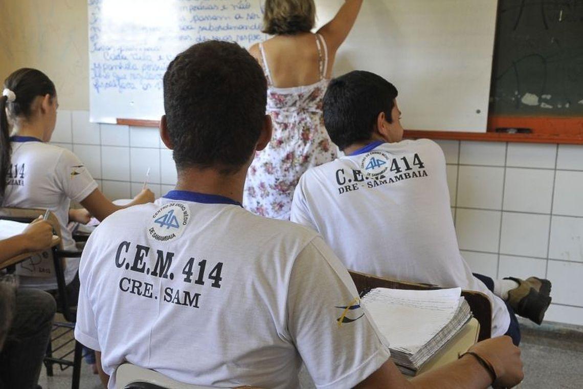 O Censo abrange as diferentes etapas e modalidades da educação básica e profissional