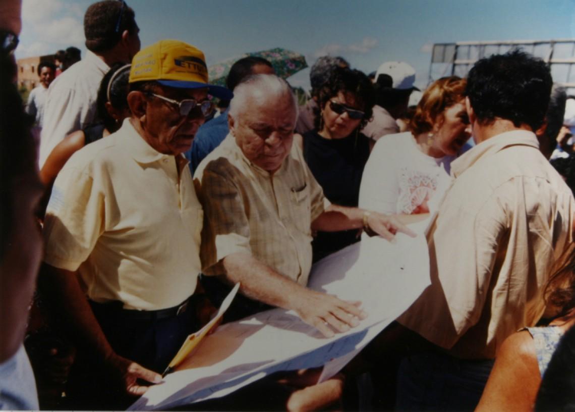 Gestão de Juraci Magalhães ficou marcada pela realização de grandes obras.
