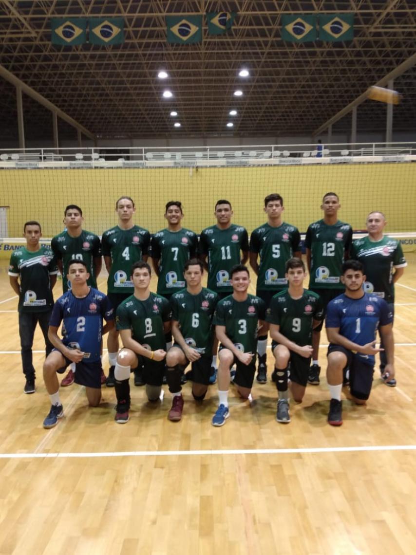 Seleção cearense de vôlei masculino disputou título em Saquarema, Rio de Janeiro